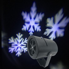 Factory Directly Christmas Lights White Snowflake Lamp Moving Projector for Xmas Lighting Indoor Use Weeding Holiday