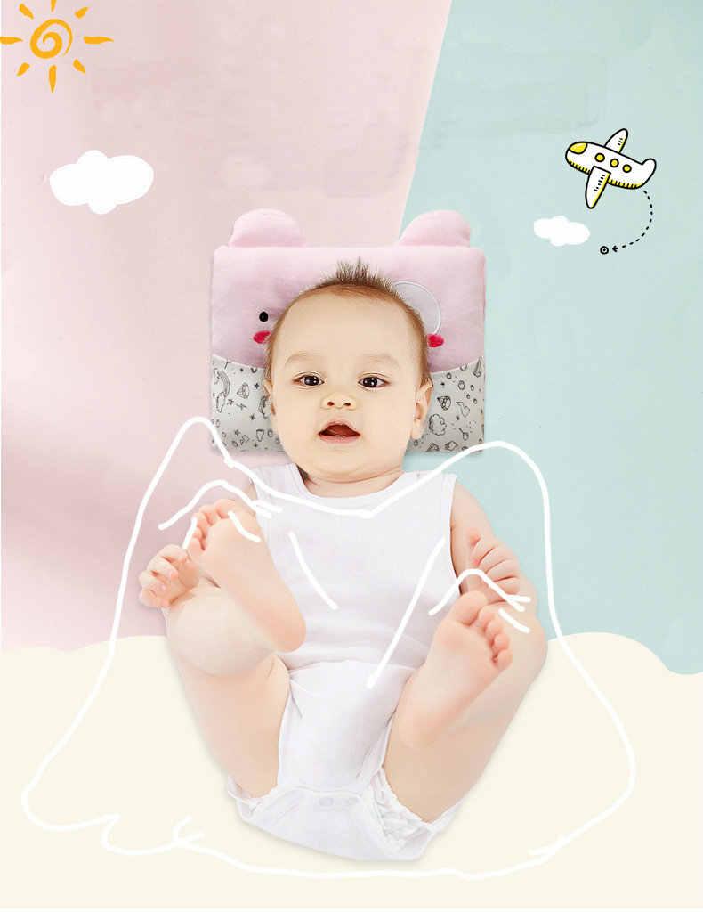 Новая однотонная детская хлопковая Подушка, предотвращающая плоскую голову, милая подушка в форме короны для новорожденных HLGZT