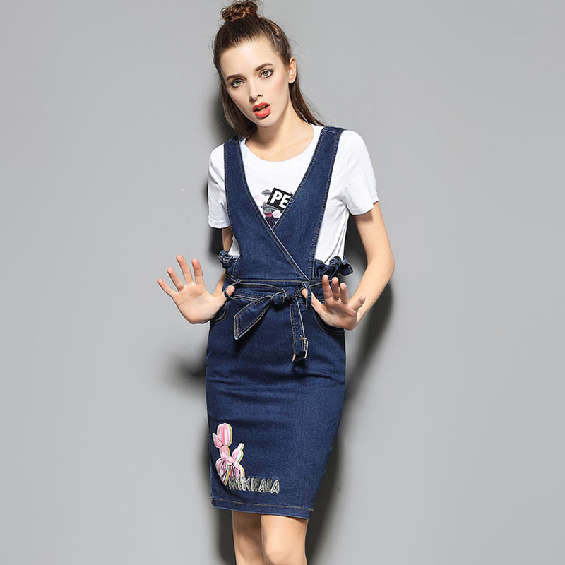 Popular Denim Skirt Suit-Buy Cheap Denim Skirt Suit lots from ...