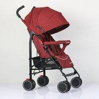 Abdo детская коляска тележка Роскошная коляска может сидеть или лежать подходит 4 сезона Портативная Складная легкая коляска