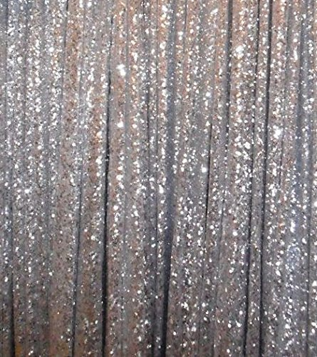 5FT*6FT Silver Sequin Fabric Backdrops For Wedding Ceremony Curtains  Decoration(China (Mainland
