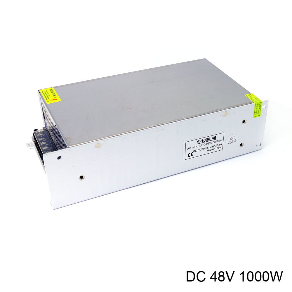 alimentation reglable power supply AC 220V to DC 48V 20.8A 1000W high power for industrial equipment