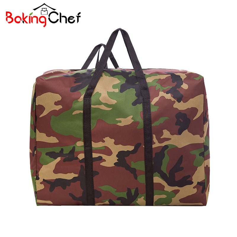 BAKINGCHEF Oxford Cloth Quilt Storage Bag Dust Cover Men Outdoor Camping Travel Pouch Accessories Supplies Gear Cases