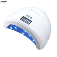 SAMVI Sunone 30PCS UVLED 48W LED UV Nail Gel Curing Quickly Lamp Light Nail Polish Dryer Nail Art Machine