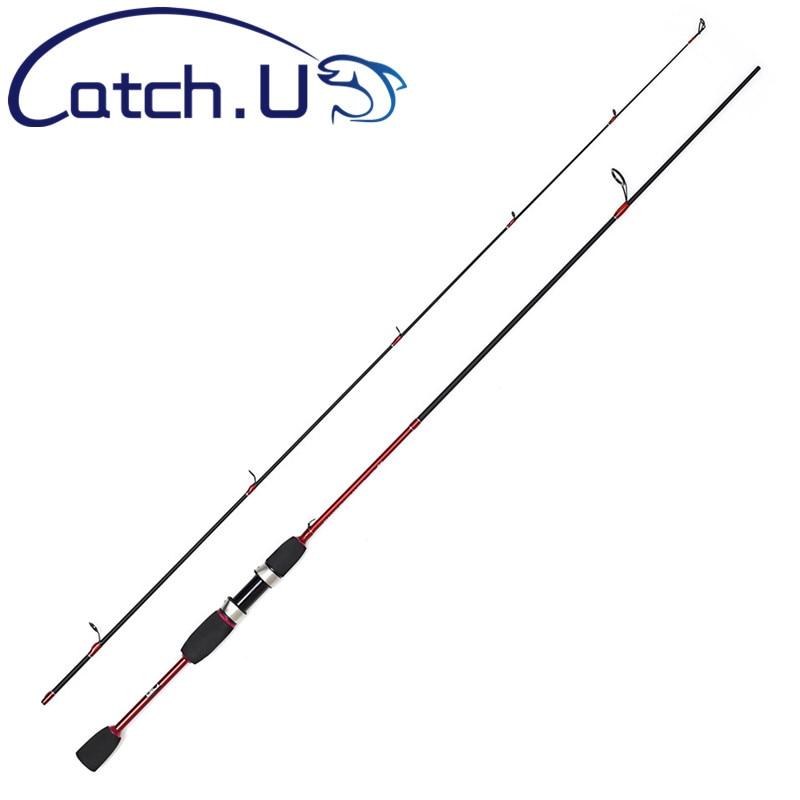 Catch.U 1.8M UL Spinning Fishing Rod Soft Fishing Pole 0.8-5lb Spinning Rod 2 Section Fishing Rods
