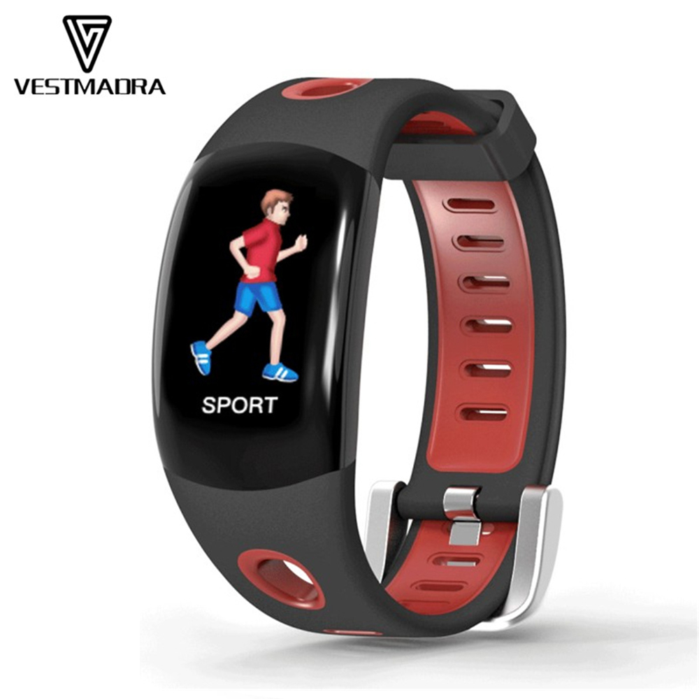 VESTMADRA DM11 Fitness Bracelet 3D Dynamic UI Smart Wristband Heart Rate Monitor IP68 Waterproof Pedometer Sport Smart Band
