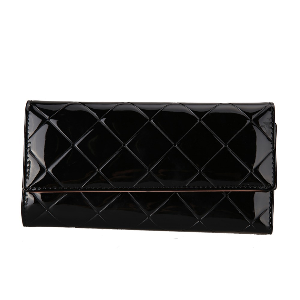 2017 PU Leather Women Wallet Long Purse Vintage Solid PU Leather multiple Cards Holder Clutch Fashion Standard Wallet