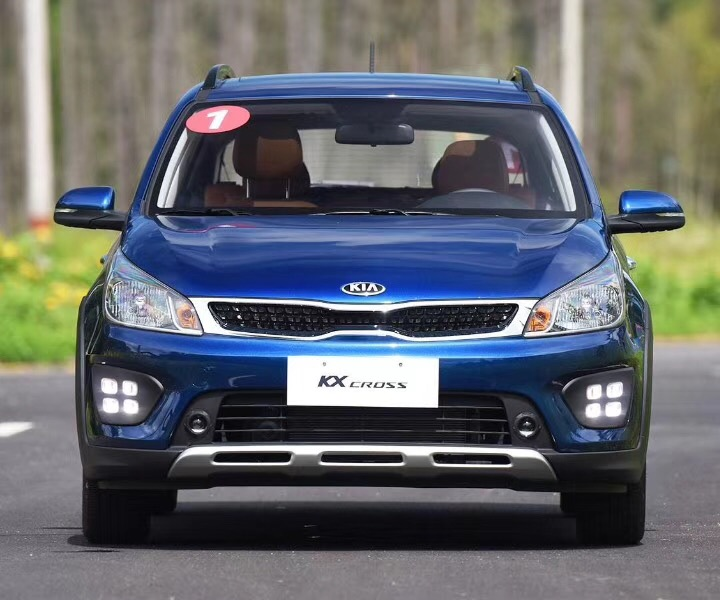 Osmrk LED DRL daytime running light top quality with yellow turn signal and blue night light for kia KX cross, wireless control