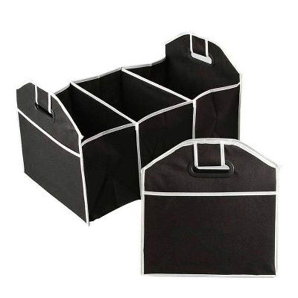Disney Collapsible Storage Trunk Toy Box Organizer Chest: Car Organizer Black Trunk Collapsible Auto Accessories