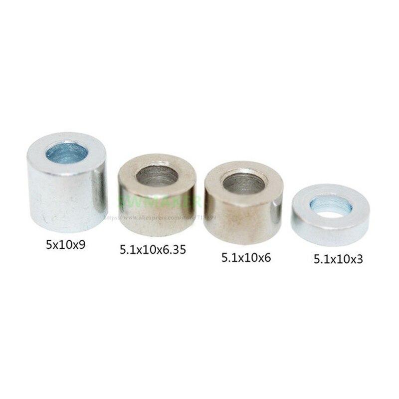10pcs Openbuilds Aluminum Spacers 3mm/6mm/1/4''/6.35mm/7mm/8mm/9mm