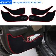 Door-Mats-Cover Car-Styling-Protector Hyundai Ix35 Protection-Pad Anti-Kick for 2-Colors