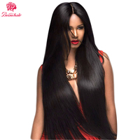 Beau Hair Nonremy 360 Lace Frontal Wigs For Black Women 150% Density Pre Plucked Brazilian Straight Lace Front Human Hair Wigs