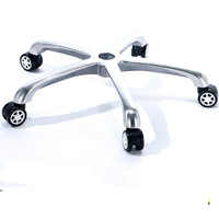 Chair Base Office Computer Swivel Lifting Chair Aluminum alloy Five star Foot Chair Chassis Office Furniture Accessories