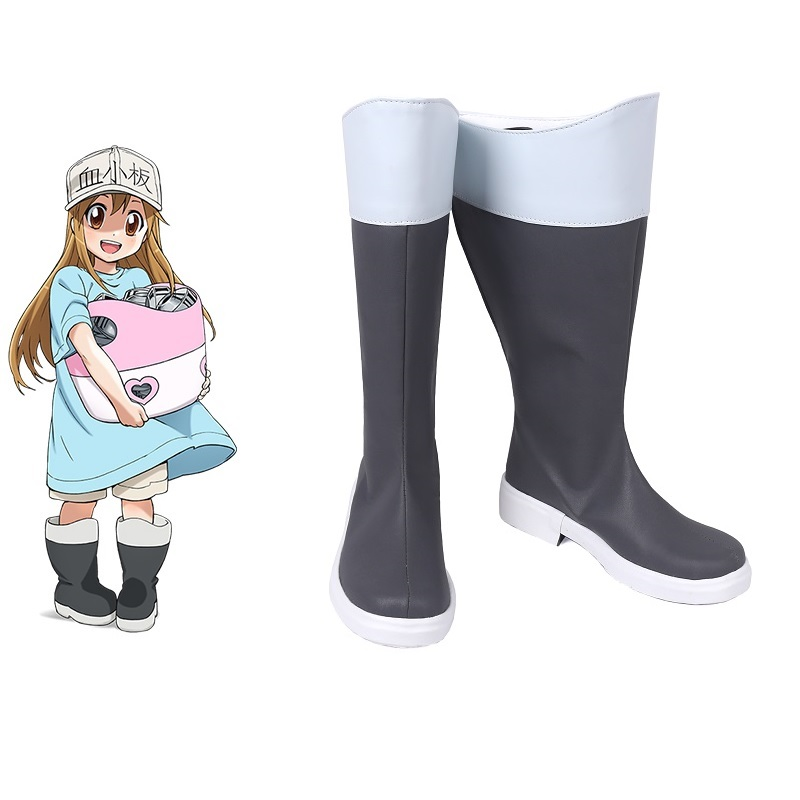 Cells at Work Cosplay Shoes Platelet Boots Anime Hataraku Saibou Cosplay Boots Custom Made