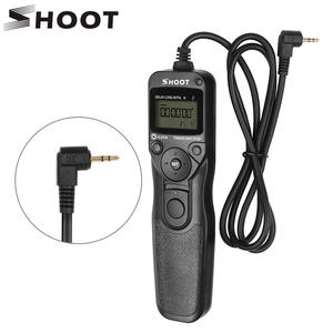 SHOOT RS-60E3 LCD Timer Shutter Release Remote Control for Canon EOS 1300D 1100D