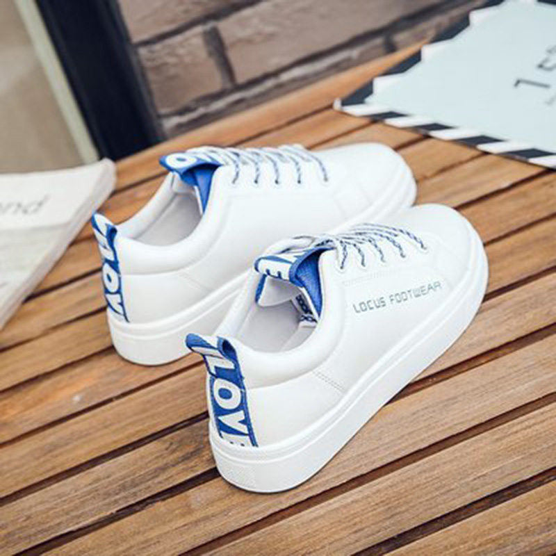 2018 mujeres vulcanize zapatos plataforma zapatos de lona - Zapatos de mujer - foto 2