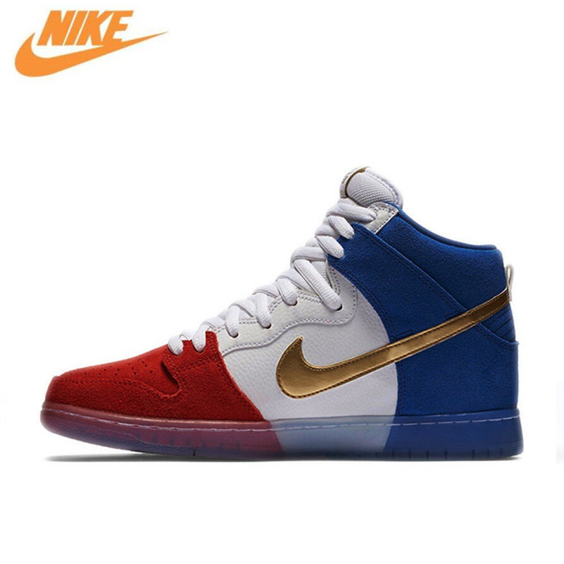 Nike Dunk High Premium SB Men's Breathable Hard-wearing Skateboarding Shoes Sports Sneakers 313171-674 nike sb рюкзак nike sb courthouse черный черный белый