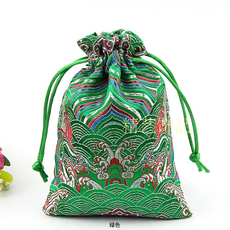 b4fdcb2299 Cheap Small Drawstring Packaging Bags for Jewelry Pouch Silk Brocade Craft Gift  Packaging Sachet Wedding Party