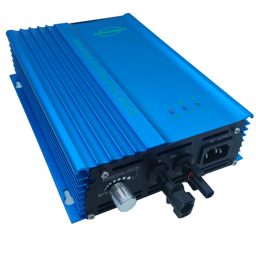 500 Watt Grid tie inverter, ADJ  12V To AC120V or 230V high efficiency, For 12V Battery Adjustable Power Output 500w solar inverters 85 125v grid tie inverter to ac120v or 230v high efficiency for 72v battery adjustable power output