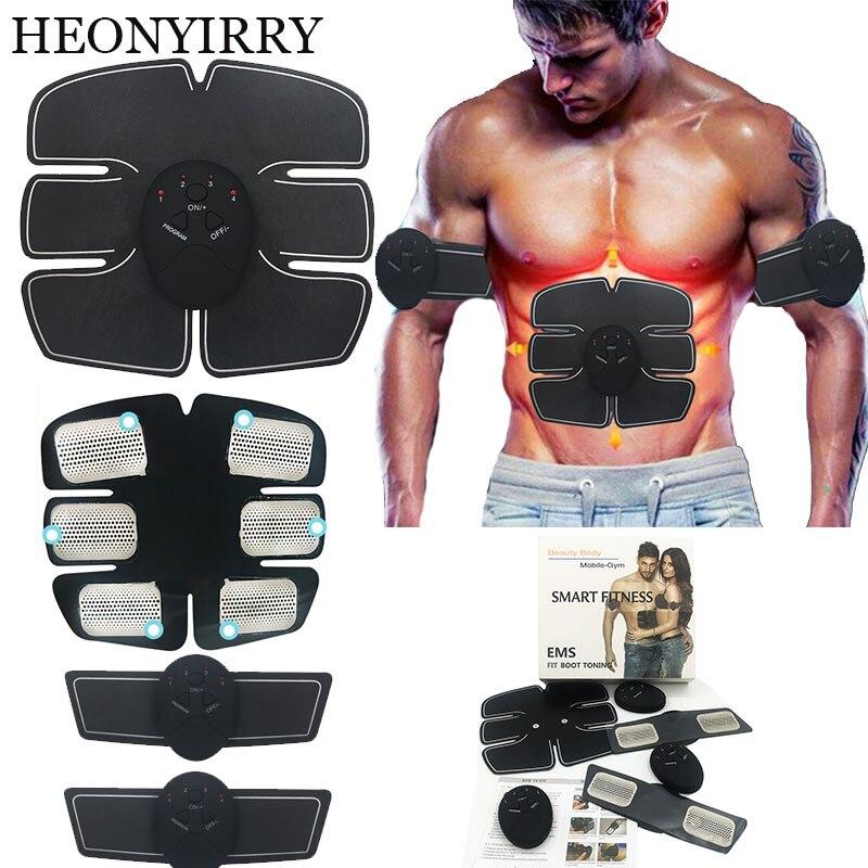 EMS Exerciser Training Device Body Massager Wireless Muscle Stimulator Stimulation Slimming Machine Abdominal Muscle Massager herbal muscle