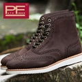 Pathfinder Fashion Outdoor Design Casual Shoes Handmade Genuine Leather Lace-up British Style Botas Size 39-44
