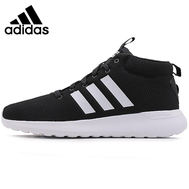 Original New Arrival 2017 Adidas NEO Label CF LITE RACER MID Men's Skateboarding Shoes Sneakers термоноски guahoo sport mid weight 150 cf bk