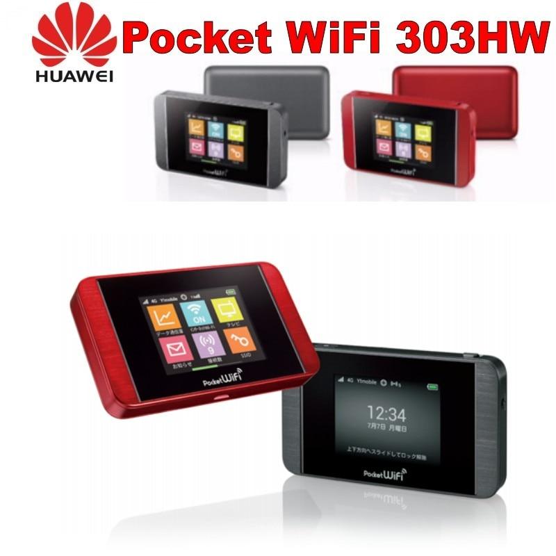 Unlocked Huawei Pocket WiFi 303HW