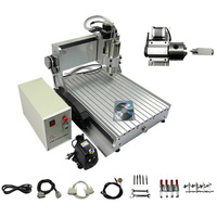 Free Ship To Russia No Tax 3D CNC Router 3040Z VFD 1500W CNC Engraver Cutting Milling