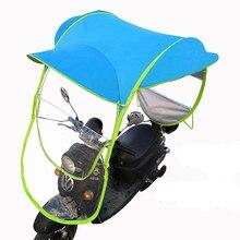 Motor Universal para coche, Scooter, sombrilla azul, movilidad, parasol, cubierta de lluvia segura, bricolaje