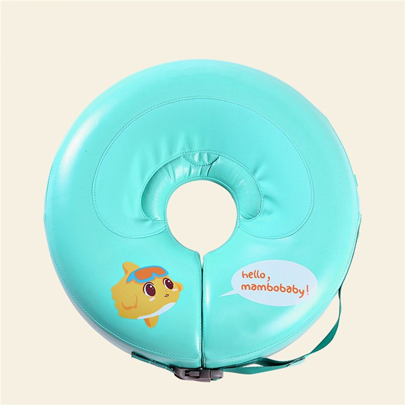 Solid Baby Swimming Neck Ring Baby Neck Float Flot Adores Para Piscina Swim Trainer Infant Neck Float Baby Swimming Accessories myofunctional infant trainer phase ii hard oringal made in australia infant primary dentition trainer girls