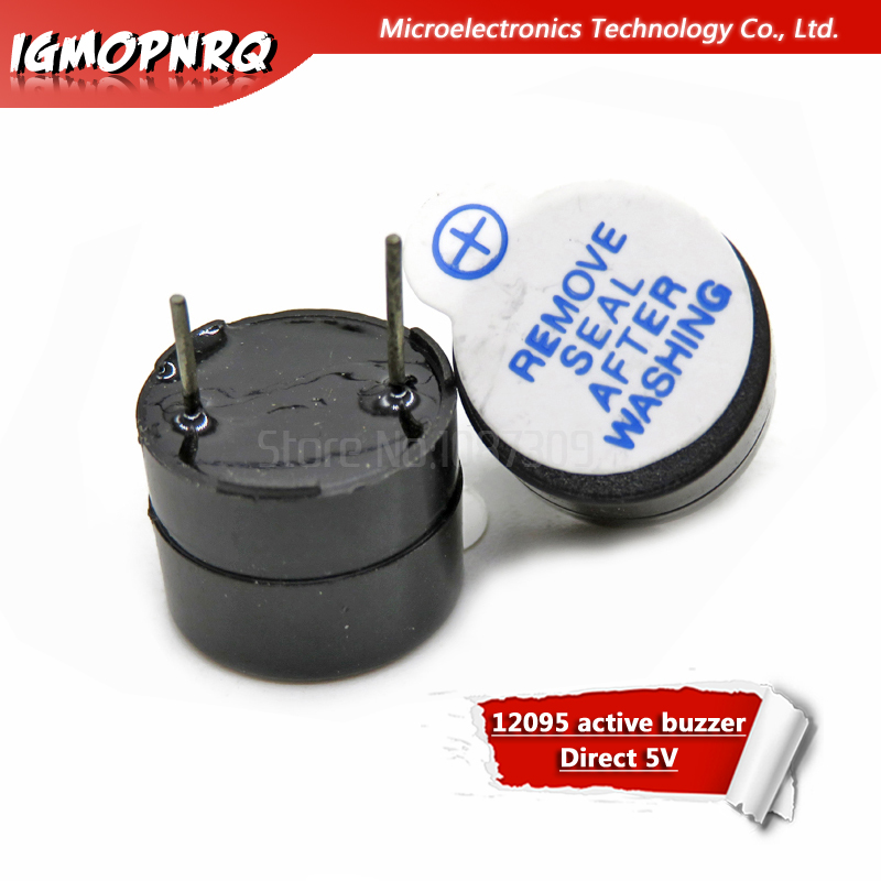 BRAND NEW 10 Pcs 12V Great Quality Active Buzzer Continous Beep 12095 Free Ship!