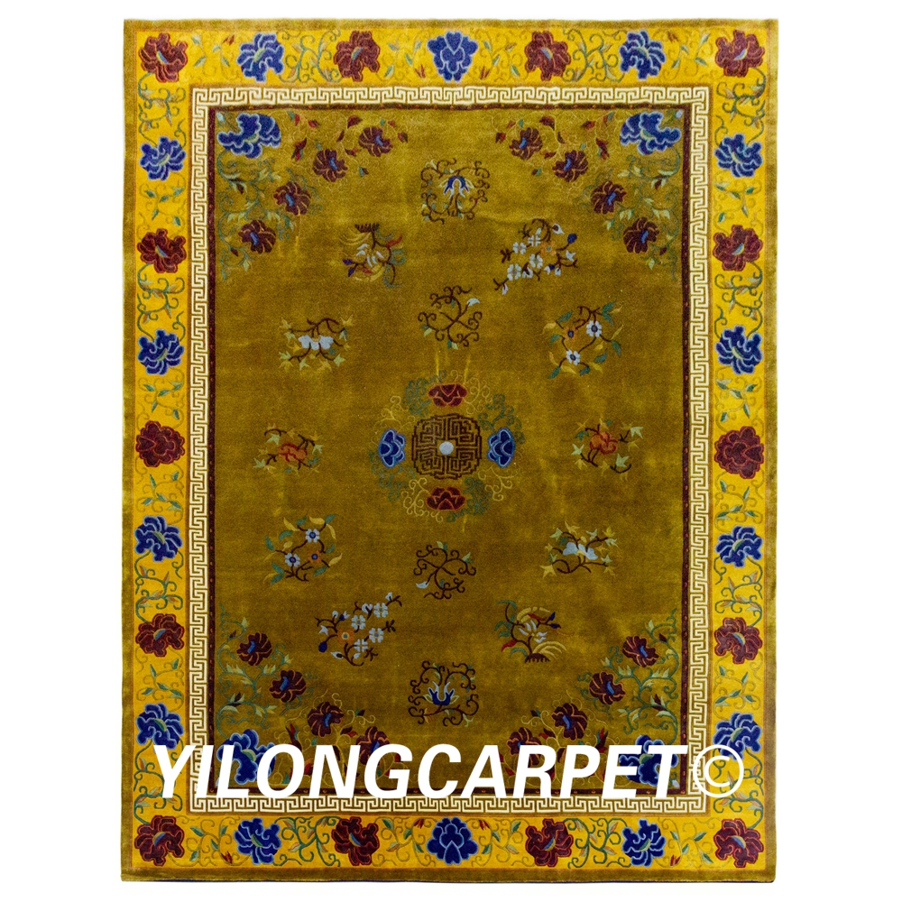 Us 10800 0 Yilong 9 X12 Oversize Hand Knotted Wool Area Rugs Nepal Handmade Carpets N06 9x12 In Carpet From Home Garden On Aliexpress