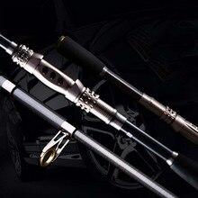 Promo offer 1.8-3.0M Adjustable Carbon Telescopic Fishing Rod, Telescopic Fishing Rod Throwing Pole