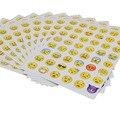 10 unids/set Emoji Pegatinas para Niños Juguete Lindo Pegatinas de Dibujos Animados para el Cuaderno/Detector de Teléfono