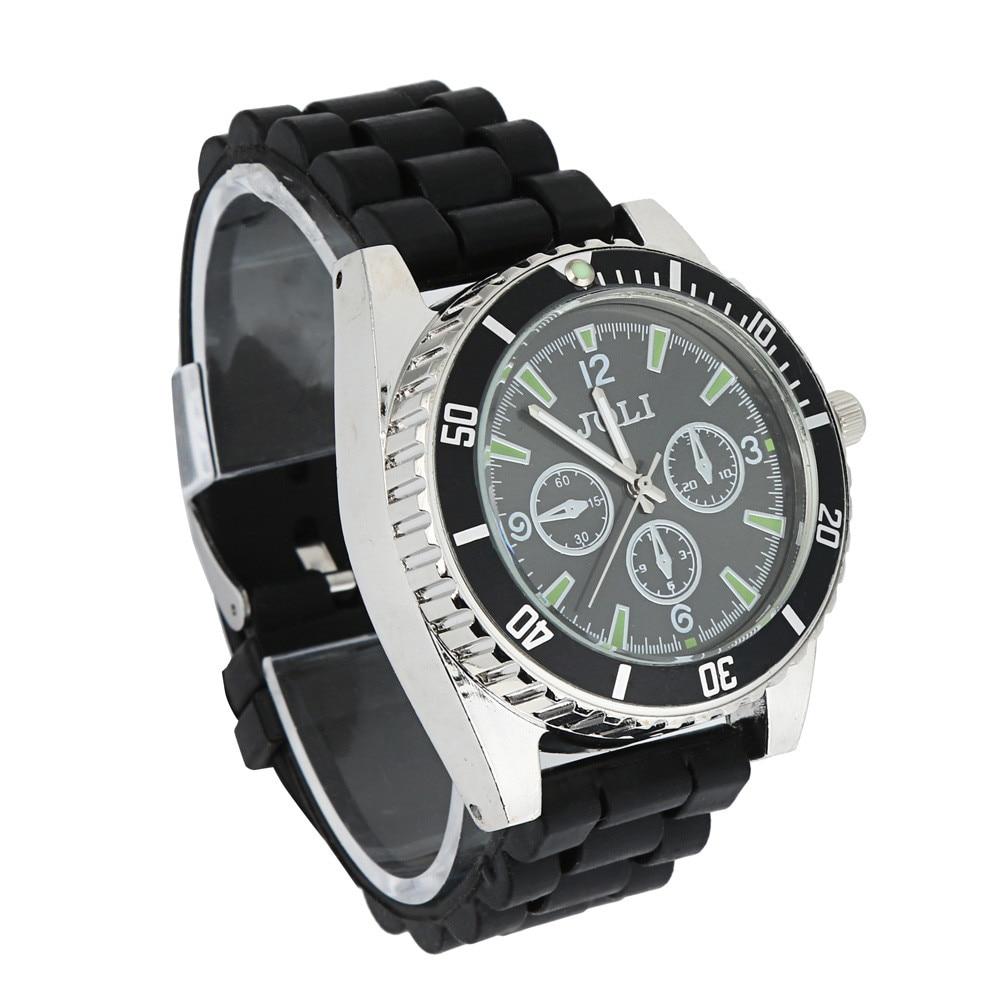 New Black Men Watch Zinc Alloy Wrist Watch Herb Spice Tobacco Grinder Cigarette Crusher Reloj Mujer Wristwatch Mens Male Clock
