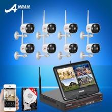 Подключи И Играй »жк-Экран Беспроводной Системы NVR 8-КАНАЛЬНЫЙ 2 ТБ HDD P2P 720 P HD Открытый IP Камеры Безопасности ИК WIFI Surveillance Kit