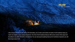 Image 3 - משלוח חינם FENIX HL50 מנצל Cree XM L2 T6 ניטראלי לבן LED 365 lumens רב תכליתי פנס