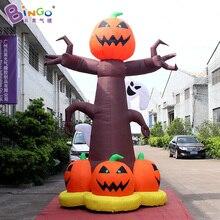 Индивидуальные 13 футов надувные тыквы Дерево Промо-4 м надувные Сквош надувные для вечерние игрушки