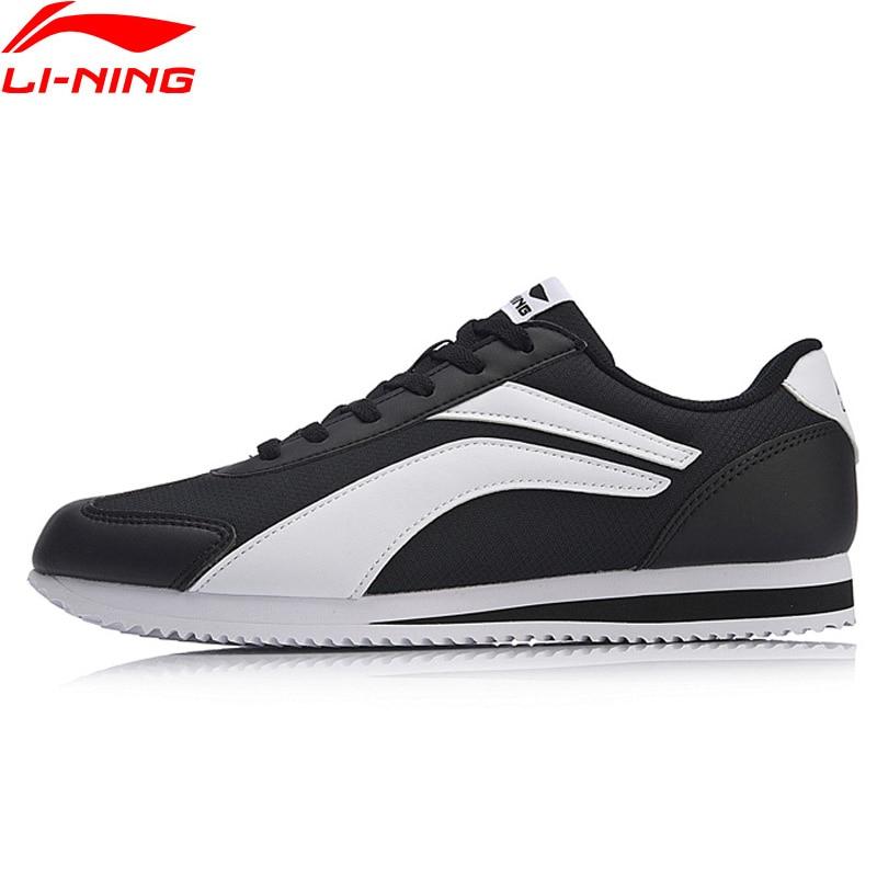 Li-ning hommes 3 KM chaussures de marche classiques poids léger vestimentaire confort doublure chaussures de Sport baskets de Fitness AGCN231 YXB220