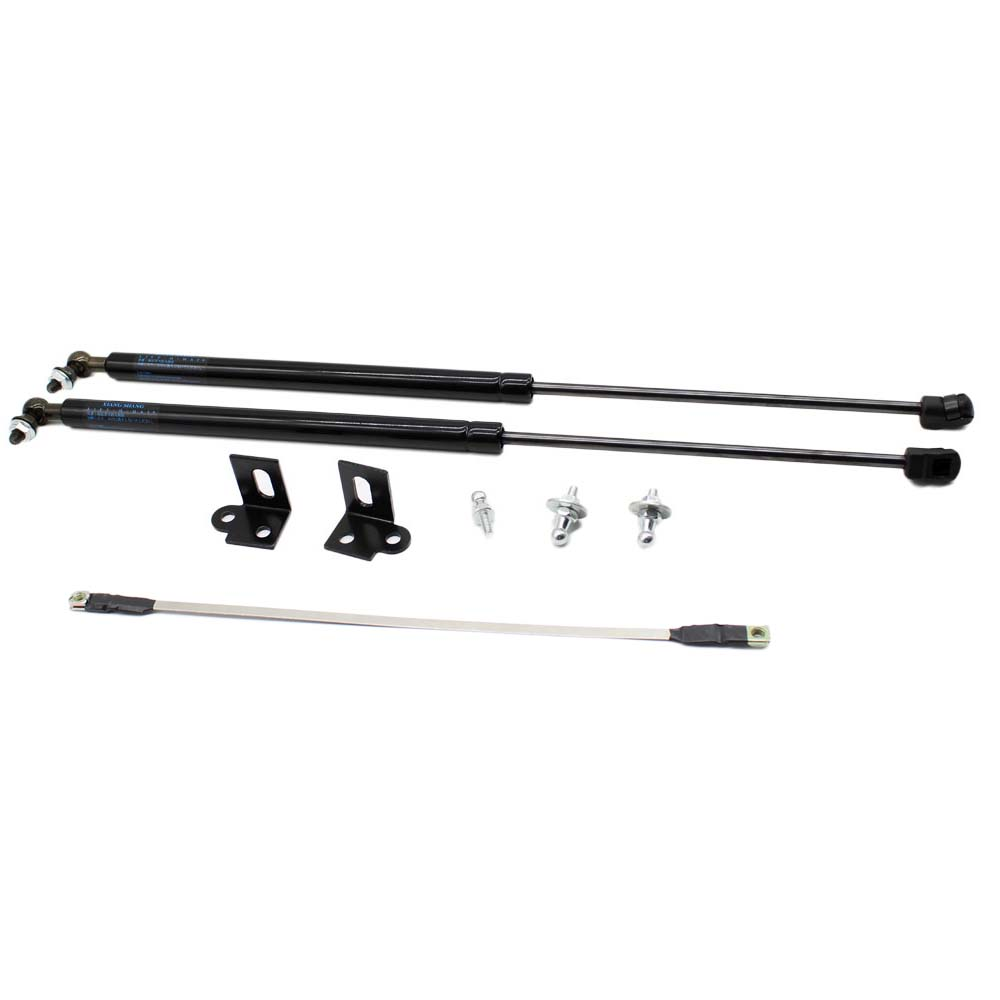 2x Car Styling Auto Front Bonnet Hood Modify Gas Struts Lift Support Shock Damper for Ford Focus 2005-2011 Accessories Absorber h tune 4x4 accessories front hood bonnet gas lift support shock strut damper for navara d40 05 15