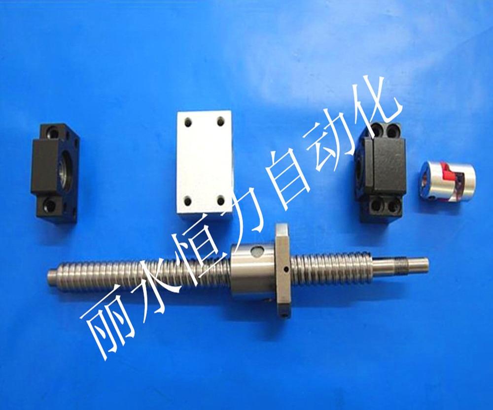 ФОТО 2pc antibacklash ball screw 1605 L550/750mm-C7+BK12/BF12 + coupler 6.35*10