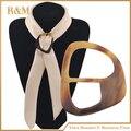 Gran cuerno anillo bufanda chal bufanda anillo de accesorios de la joyería hecha a mano