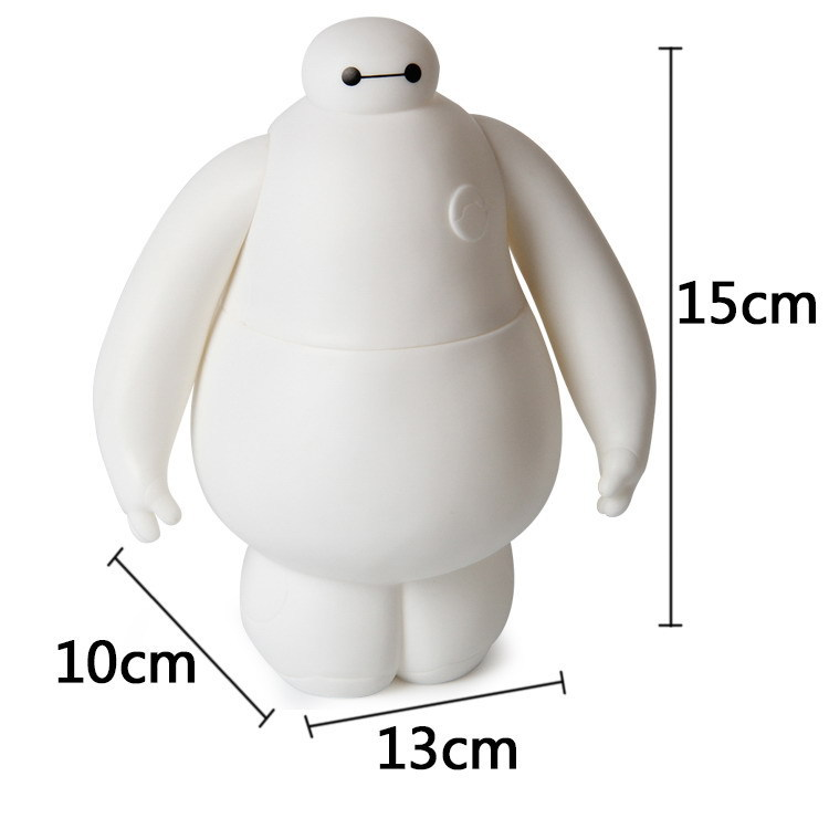 <font><b>Big</b></font> <font><b>Heros</b></font> <font><b>6</b></font> <font><b>Baymax</b></font> Armor up 10*13*15 cm Boxed PVC <font><b>Action</b></font> Figure Robot collection model Toy