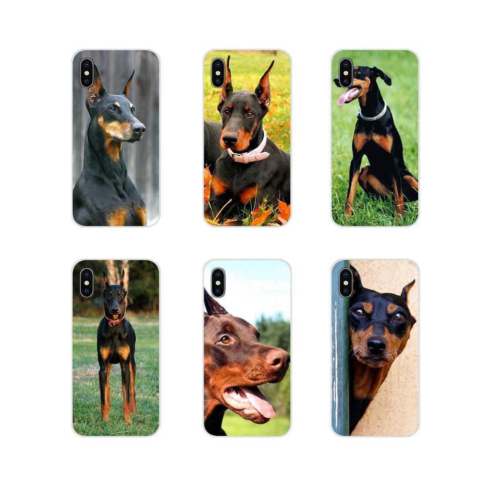 Acessórios Phone Cases Covers Doberman Pinscher dog Para Samsung Galaxy J1 J2 J3 J4 J5 J6 J7 J8 Plus 2018 prime 2015 2016 2017