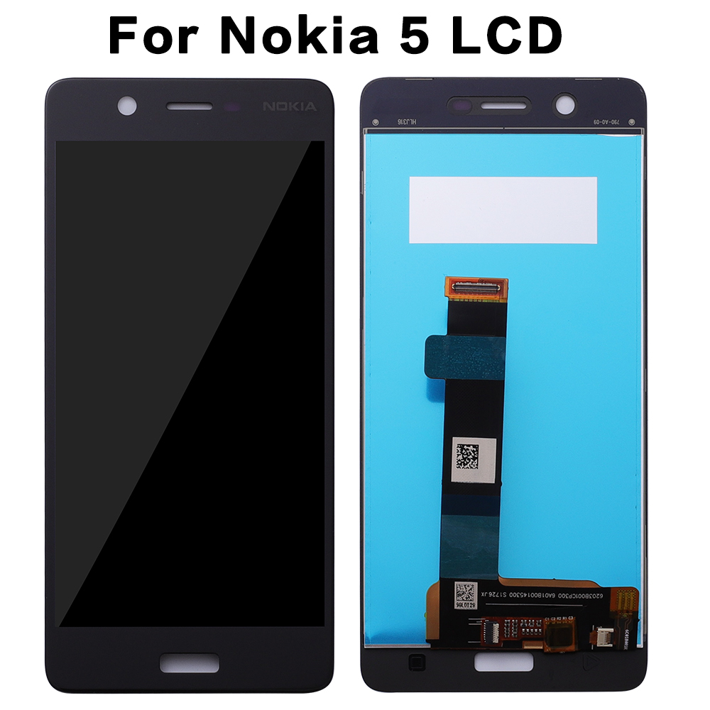For <font><b>Nokia</b></font> <font><b>5</b></font> LCD Display Touch Screen Digitizer Replacement for <font><b>Nokia</b></font> TA-1008 TA-1030 TA-<font><b>1053</b></font> Pantalla Replacement 1280x720 LCD image