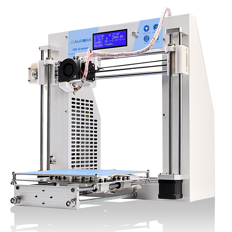 3d printers JGAURORA 3d printer kit  diy prusa i3 high precision stable 3d printing rapid prototyping 3d printing machine