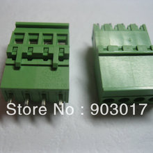 120 шт за лот 5.08A 5,08 мм прямой 4-контактный винтовой терминальный блок разъемов вставные Тип 2EDCD-5.08A-2EDCV горячая распродажа
