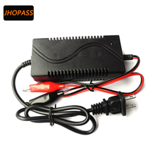 Intelligent Smart 12V1A Charger 12V car & motorcycle battery charger with US EU plug for 12V SLA, GEL, AGM, VRLA battery,