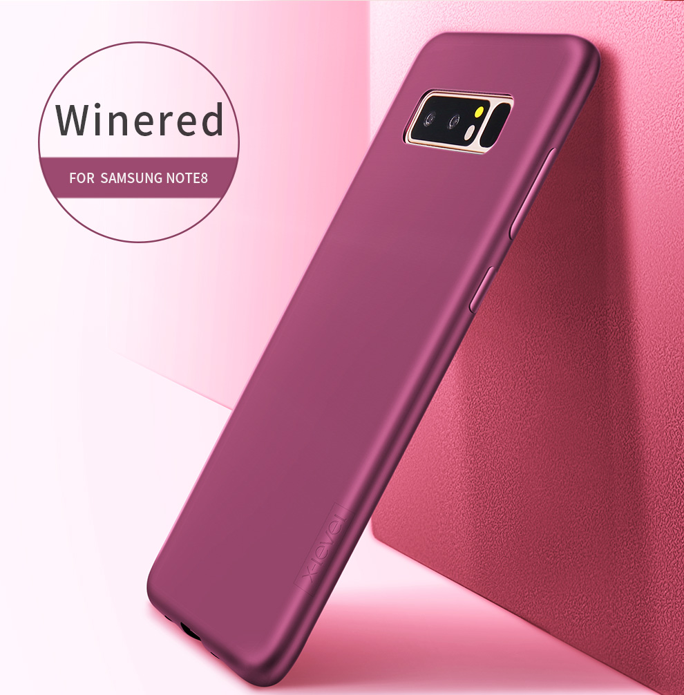 X-Level Guardian Soft Matte TPU Case for Samsung Galaxy Note 8 Scrub Back Cover for Samsung Note8 Dual Sim Silicone Case