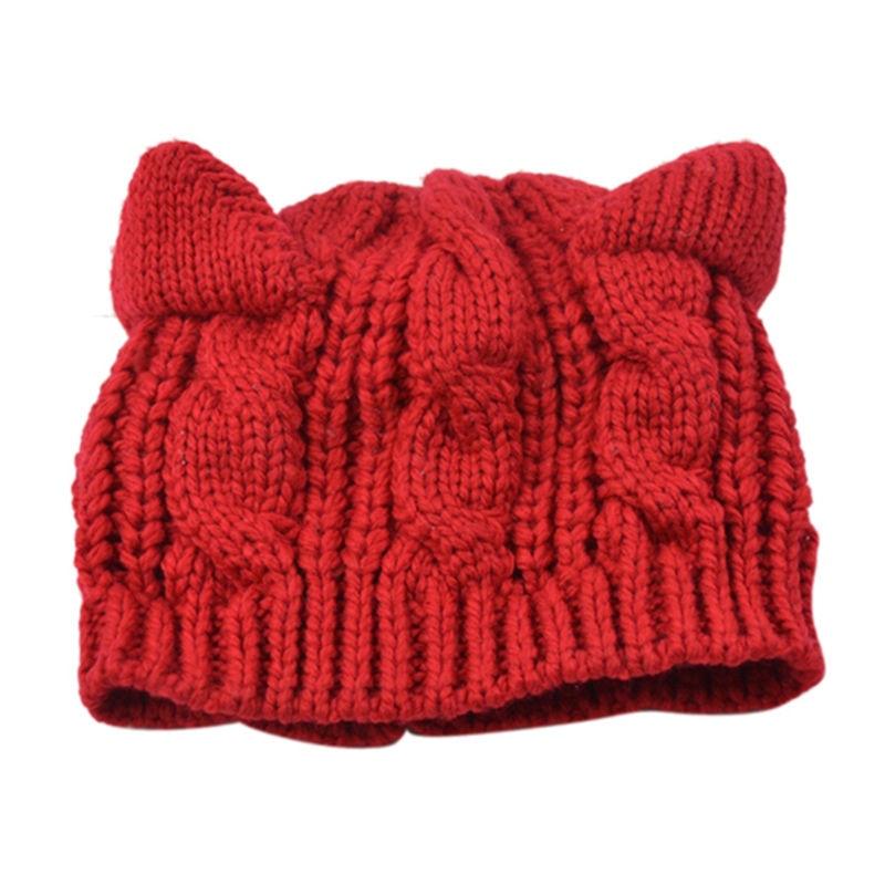 Lujo Gato Patrón De Crochet Sombrero Embellecimiento - Manta de ...
